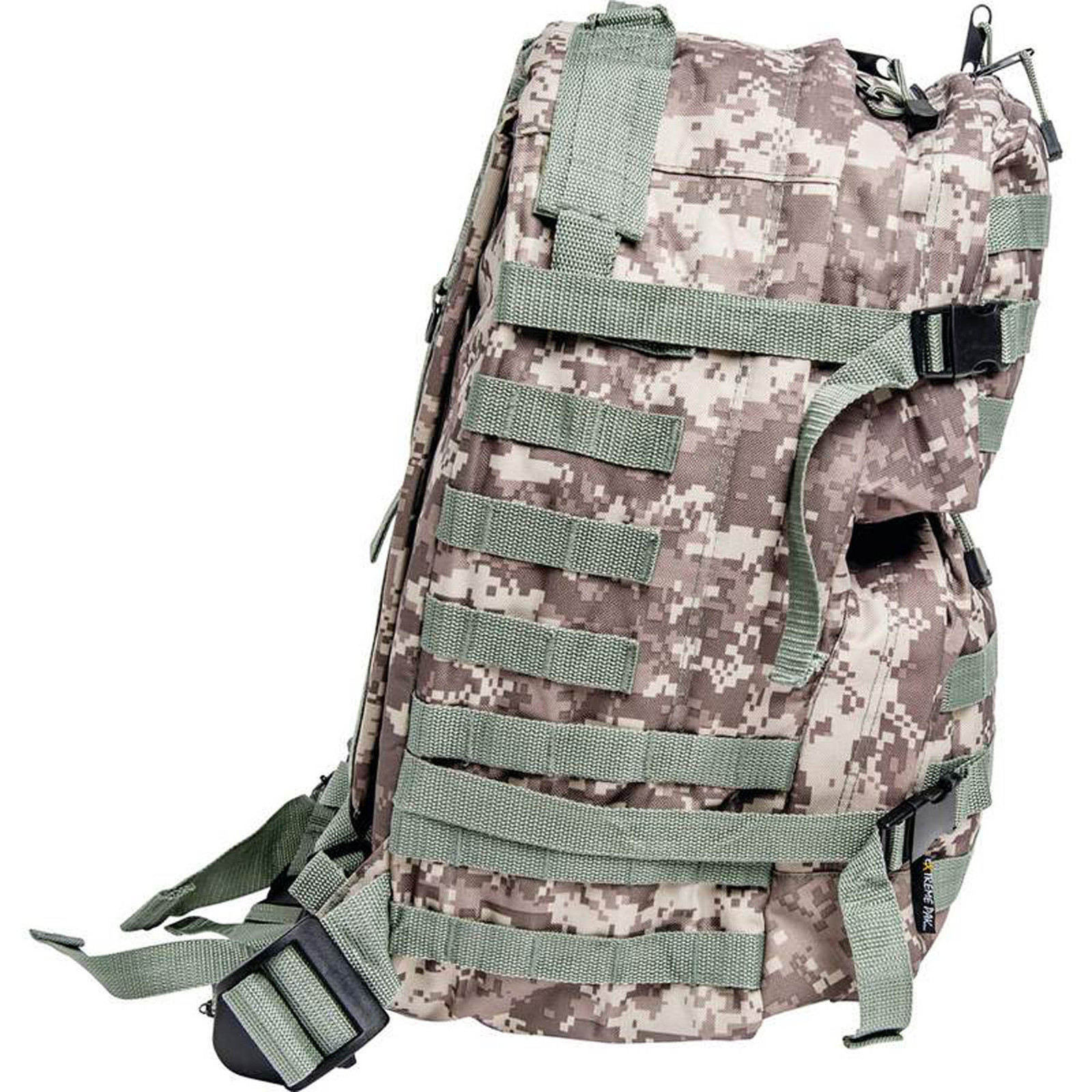 "19"" Digital Camo Water Resistant Army Backpack Camping Hunting Hiking Trekking"