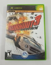 Burnout 3 Takedown Xbox 2004 EA Games - $16.35