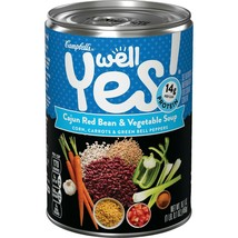 Campbell';s Well Yes! Cajun Red Bean & Vegetable Soup 16.1 oz ( Pack of ... - $59.39