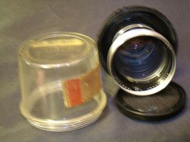 Carl Zeiss Pro-Tessar Lens f=85mm with fitted Zeiss Ikon Case AA-192032 Vintage image 4
