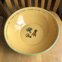 TIME TO CELEBRATE Stress Survival, Big Popcorn Eat Bowl Department 56 NWT - $19.80