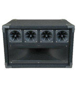 Mid / High Frequency Cabinet with Midrange Horn and Piezo Tweeters 600W ... - $98.01