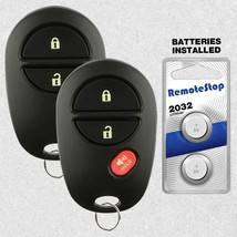 2 For 2011 2012 2013 2014 2015 Toyota Sienna Tacoma Keyless Entry Remote... - $14.82
