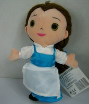 Disney Parks Belle Rag Doll Plush Beauty and the Beast 9 Inch New with Tags - $21.77