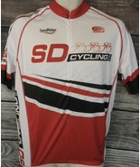 Sandridge Energy Veloce Speedwear Cycling Jersey Large Oilfield Petroleum - $22.62