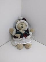 Starbucks Bearista Girl Bear Plush 2005 43rd Edition Winter Coat Christm... - $24.49