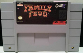 Family Feud (Super Nintendo Entertainment System SNES, 1993) Clean and T... - $7.69