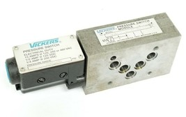 VICKERS DGMPS-5-AB-15-10 PRESSURE SWITCH 100-300PSI DGMPS5AB1510