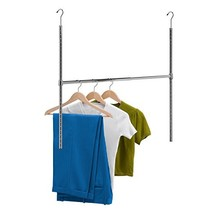 Honey-Can-Do HNG-01816 Chrome Adjustable Hanging Closet Rod, 1-Pack, - $12.89