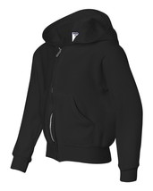 NWOT Jerzees kids Hoodie Jerzees -NuBlend Youth Full-Zip Hooded Sweatshirt 993BR - $13.09