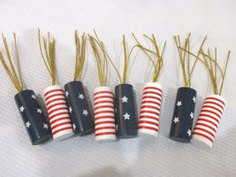 Patriotic 4th Of July Firecracker Bowl Filler Table Scatter Decorations (8) - $12.99