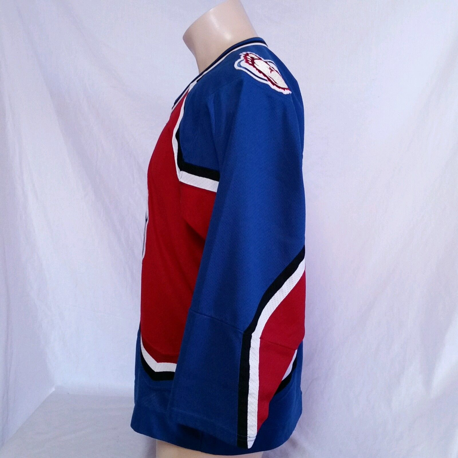 Colorado Avalanche CCM Hockey Jersey NHL Throwback VTG Authentic Mens Size Large image 3