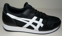 Asics Tiger Size 8.5 M CURREO II Black White Sneakers New Womens Shoes - $88.11