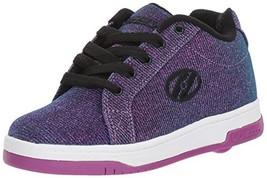 Heelys Kids Split Sneaker, Purple/Aqua, 5 Medium US Big Kid - $60.55