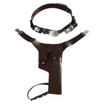 Han Solo Belt Harness Set Strap Holster Holder Star Wars Cosplay Costume... - $54.00