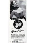 Bra Merry Go Round Peter Pan Bra Encircles Your Bust Glamour 1947 AD - $12.99