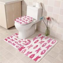 Hot Victoria's_Secret191 Toilet Set Anti Slip Good For Decoration Your Bathroom  - $20.09