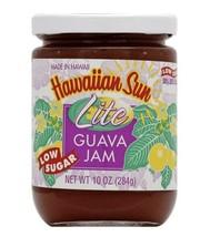 Hawaiian Sun Lite Guava Jam Low Sugar 10 Oz. (Pack Of 4) - $57.42