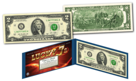 LUCKY MONEY 7's with 777 in the Serial Number - L Series U.S. $2 Bill wi... - $13.81