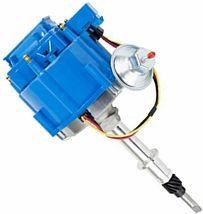 HEI Distributor - Amc Jeep 232-258 6-Cyl Engines, 50K V Coil, Blue Cap image 8