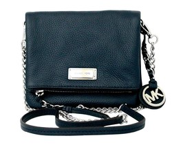 Michael Kors Corinne Extra Small Leather Crossb... - $236.91