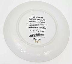 Honolua Bay Of Piilani Underwater Paradise Danbury Mint Plate Robert Lyn Nelson image 4