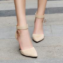 pumps Designer High Kjstyrka Ladies 9cm thin elegant Wom Woman 2018 Brand Heels qgwwTRI