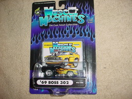 Muscle Machines 69 Boss 302 02-104 Flamed Free Usa Shipping - $11.29