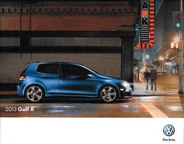 2013 Volkswagen GOLF R sales brochure catalog 13 US VW - $9.00