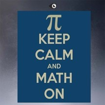 """SteamPunk ART """"Keep calm & math on"""" HD print on canvas huge wall picture... - $15.83"""