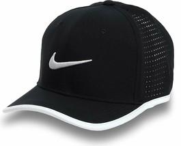 NEW! Nike Men's Vapor Classic 99 Training One Size/Adjustable Hat-Black/White - $49.38