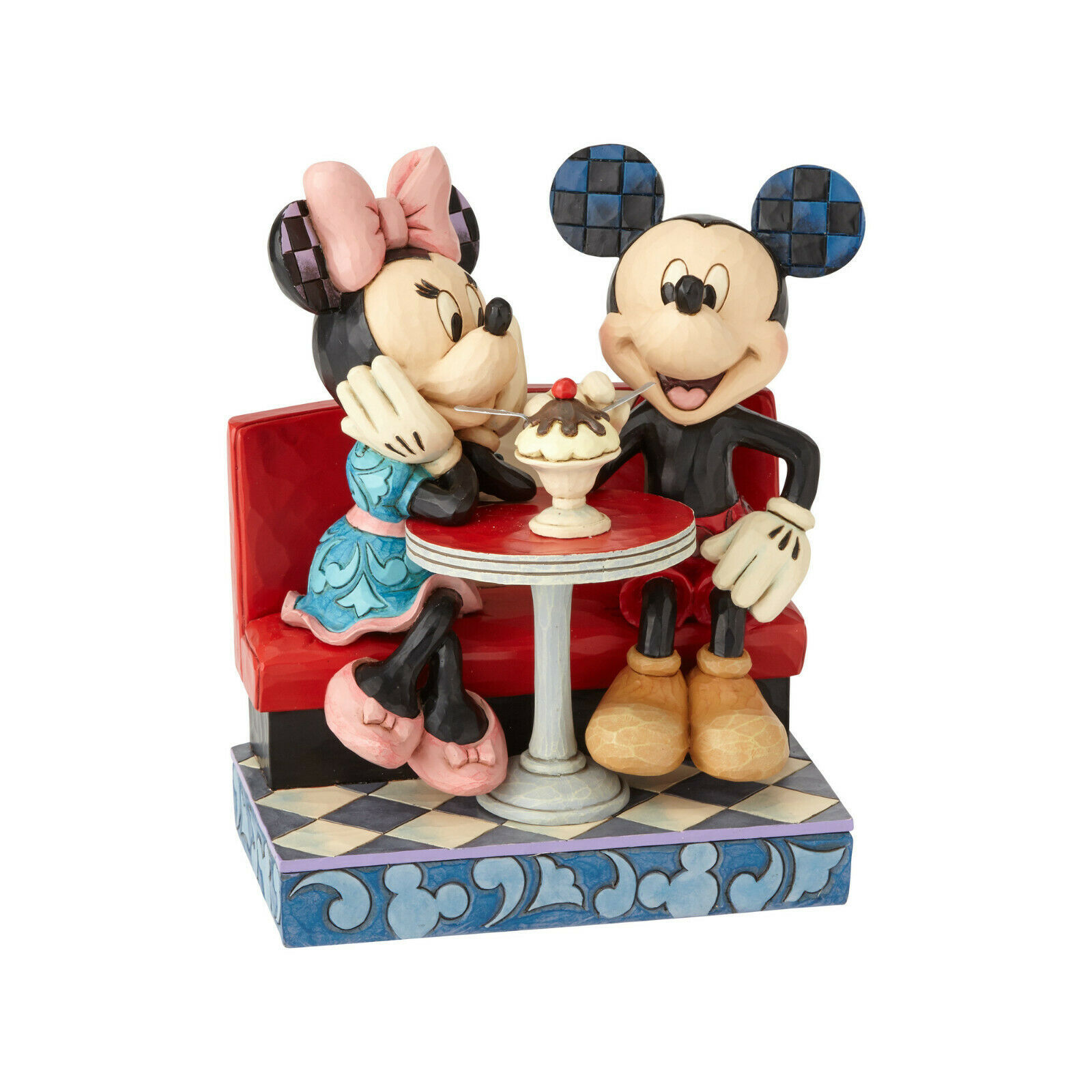 "6.25"" Love Comes in Many Flavors -Mickey & Minnie - Jim Shore Disney Traditions"