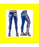 LA RAMS Leggings - #16 Women Fan Gear - High Quality - NFL Football Gift... - $34.99