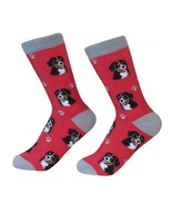 Bernese Mountain Dog Socks Unisex Dog Cotton/Poly One size fits most - $11.99