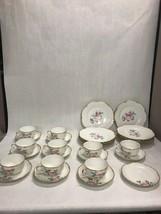 28 Lot Haviland Limoges Vintage Lgh Luncheon Set Plates Cups Saucer 1893 Rare - $495.99