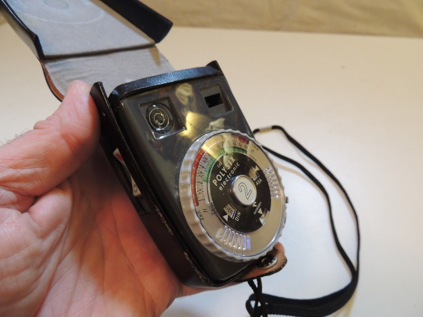 2 Belichtungsmesser Sixtomat Electronic Cds Fotostudio-zubehör Gossen Color Finder