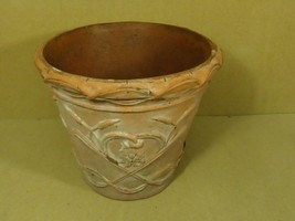 American Pottery Decorative Pot 20in x 20in x 16in Browns Country Plastic - $31.24