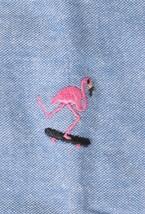 Akomplice Akman Manica Corta a Bottoni Uomo Camicia Nwt image 2