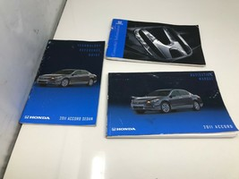 2011 Honda Accord Sedan Owners Manual Handbook Set OEM Z00/29 - $19.19