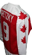 Custom Name # Seneca Nationals Hockey Jersey New Red Wayne Gretzky Any Size image 4