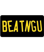 beatngu jeepers creepers pop culture horror movie license plate made in usa - $27.07