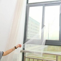 130cmx150cm Fly Mosquito Window Net Mesh Screen Room Cortinas Mosquito C... - $4.23+