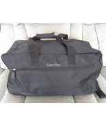 Calvin Klein Nylon Duffel Travel Carry-on Bag with Wheels Black 12 X 24 Mens - $89.99