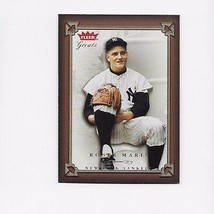 2004 FLEER GREATS OF THE GAME YANKEES ROGER MARIS #16 - $0.99