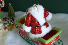 POTTERY BARN MR. CLAUS COAT ORNAMENT -NWT- FOR A COOL, CHIC LOOK, THIS I... - $19.95