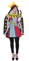 Queen Of Hearts Womens Costume Dress Adult Halloween Unique SZ 8-12 FM76830 - $52.99