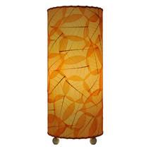"Banyan Leaf Table Lamp 17""Hx7""W #483T-Orange - £129.40 GBP"
