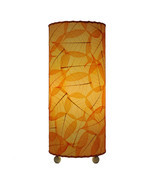 "Banyan Leaf Table Lamp 17""Hx7""W #483T-Orange - $3.200,11 MXN"