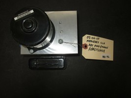 05 06 07 Mercedes Clk Abs Pump & Module #A0064310412 *See Item* - $124.11