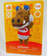 153 - Alfonso - Series 2 Animal Crossing Villager Amiibo Card - $9.99